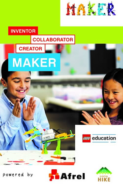 Maker Faire Tokyo 2018 レゴ WeDo 2.0 きっずMaker ワークショップ
