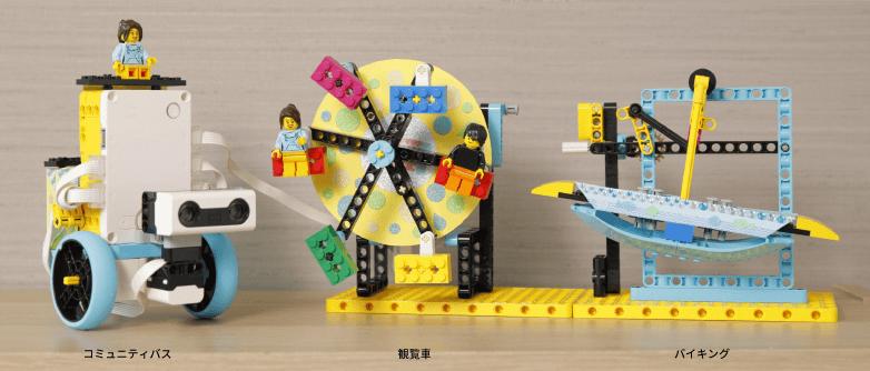 組み立てモデル例